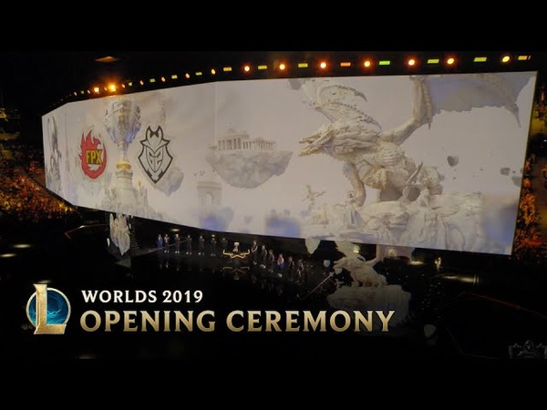 Opening Ceremony Presented by Mastercard 2019 World Championship Finals