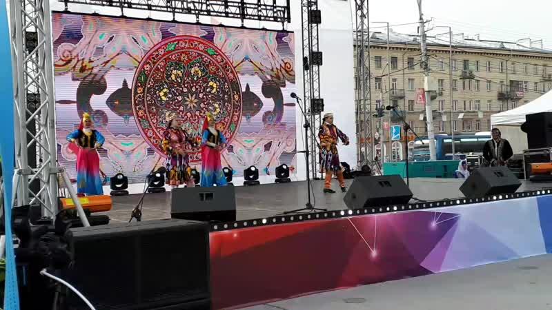 Андижанская полька узбекский танец средняя группа Праздничная шкатулка Новосибирск