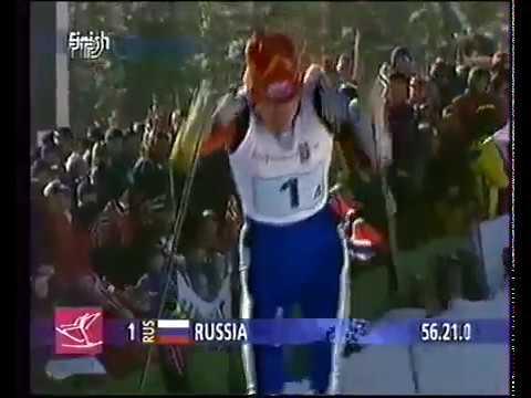 1994 02 22 Олимпийские игры Лиллехаммер лыжные гонки 4x5 км эстафета женщины
