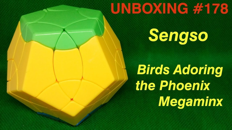 Unboxing №178 Sengso Birds Adoring the Phoenix Megaminx