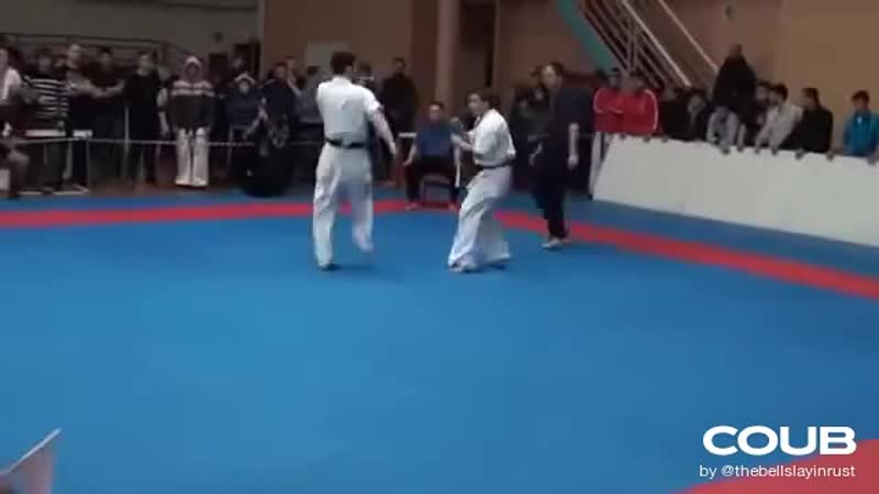Front Flip Knockout Karate Kick Is Absolutely Sick