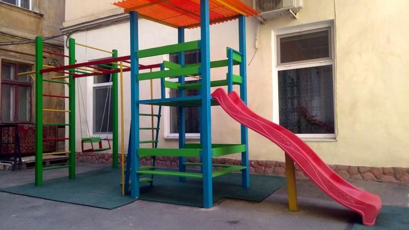 Строили мы детскую площадку проект Сделаем вместе при поддержке депутата Иеремии В В Лютеранский 3