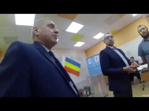Выборы в Батайске на 246 участке детсад № 149 Матрешка