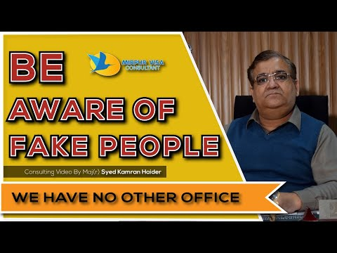 Avoid dealing with staff | Only one office | Please do not respond to unknown numbers|