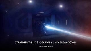 Очень странные дела/Загадочные события (Stranger Things) - SEASON 3 | VFX Breakdown by ScanlineVFX