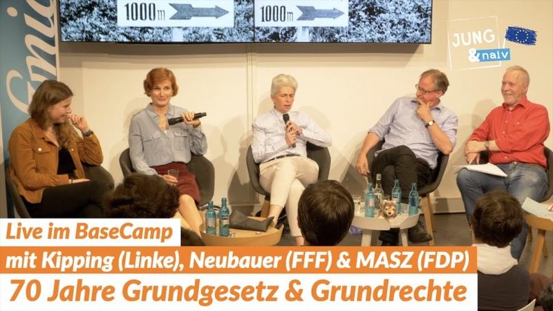 Live-Debatte mit Katja Kipping (Linke), Luisa Neubauer, MASZ (FDP) Albrecht von Lucke