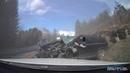Incredible Crash || Volvo car vs Scania Truck || Safety Car Volvo | Volvo güvenliği, kaza sonucu