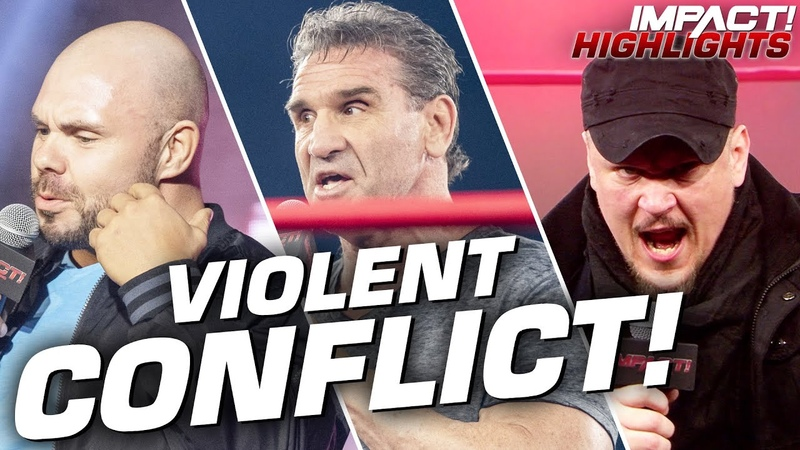Michael Elgin CRASHES Ken Shamrock Sami Callihan's Confrontation IMPACT Highlights May 5 2020