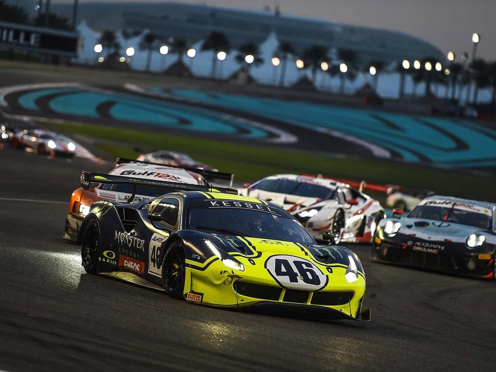 Валентино Росси завоевал подиум в гонке Гулф 12 Часов / Gulf 12 Hours 2019