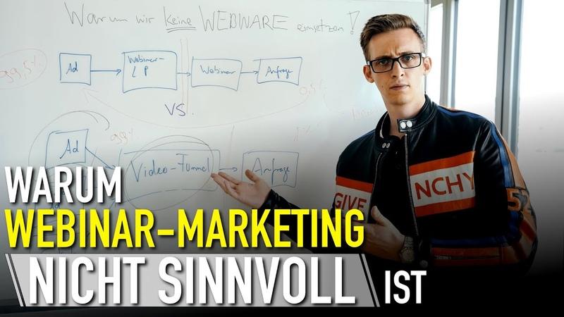 Warum Webinar-Marketing nicht sinnvoll ist (für Coaches, Berater Trainer)