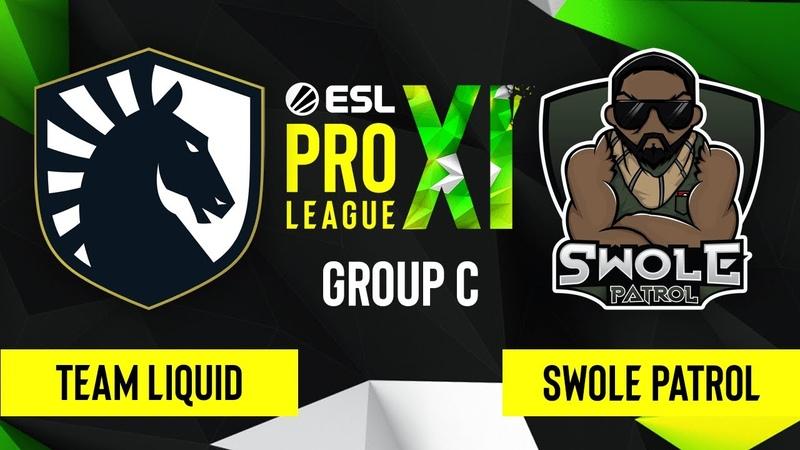 CS GO Swole Patrol vs Team Liquid Overpass Map 2 ESL Pro League Season 11 Group C