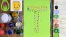 АЛФАВИТ для малышей от А до Я/ Буква Т/ Рисуем АЛФАВИТ/ Буквы/ Урок рисования для детей