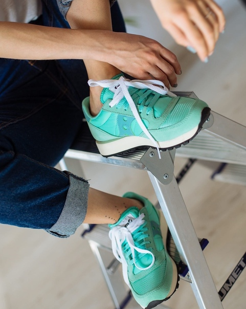 Кроссовки Saucony Jazz Original Mint/White