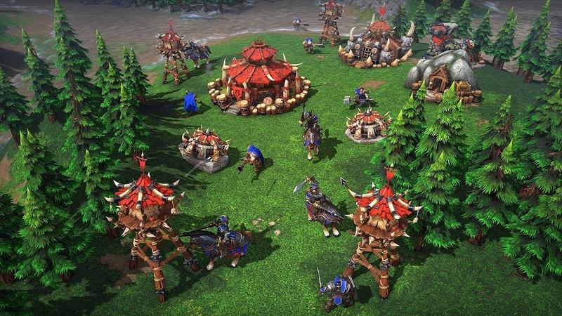 Warcraft III Reforged игровой процесс