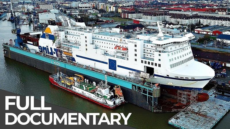 Gigantic Car Ferry Heavy Maintenance Mega Pit Stops Episode 5 Free Documentary