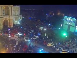 В Одессе фейерверк запустили в толпу людей