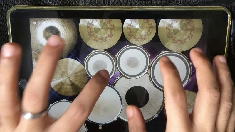 ON MY WAY Alan Walker Sabrina Carpenter Farruko iPad drum cover