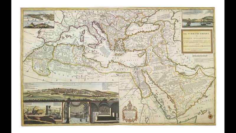 карта 1720 года на которой нет России