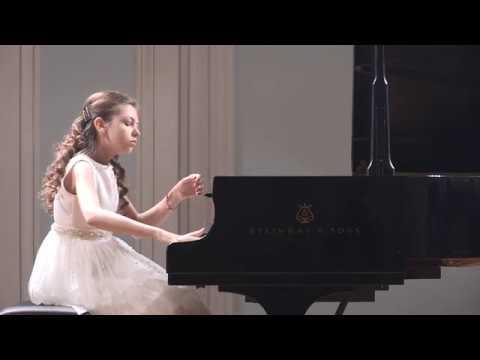 Лера Базыкина Ф Лист Вздох Lera Bazykina F Liszt Un sospiro Moscow conservatory