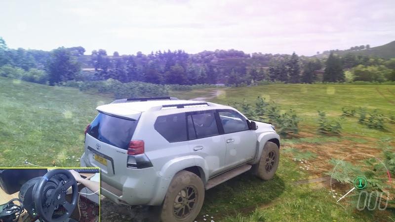 LAND CRUISER ДІ ТӨҢКЕРІП ТАСТАДЫҚ НАҒЫЗ ТАУҒА ШЫҒАТЫН КӨЛІК Forza Horizon 4