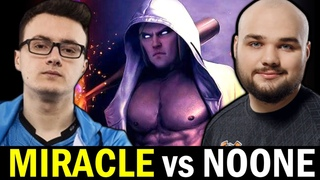 MIRACLE vs NOONE Nonstop Fight — INVOKER vs MAGNUS