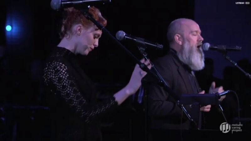 Michael Stipe Karen Elson Ashes to Ashes David Bowie cover