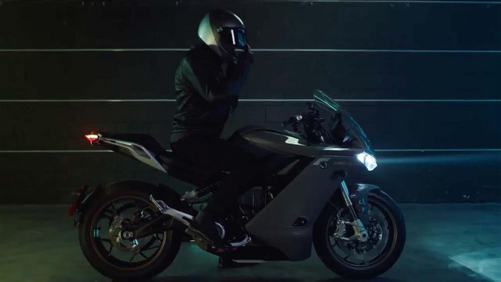 Электроцикл Zero SR/S (видео)