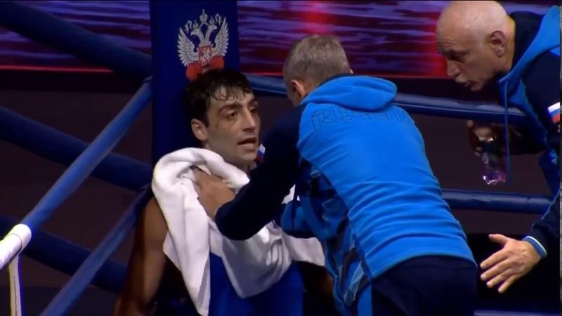 14 финала ЧР-2019, 81кг Раджаб Раджабов - Георгий Кушиташвили