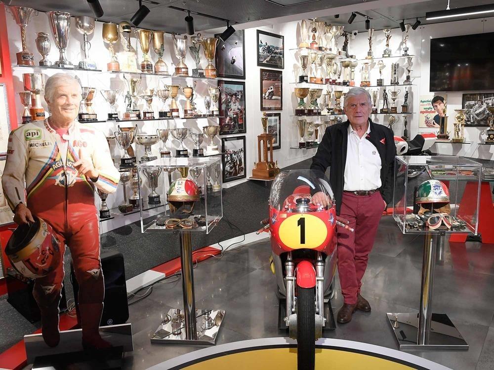 Музей Джакомо Агостини открыли в Бергамо
