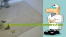 Как выровнять дощатый пол двумя слоями OSB плитой и гремучей смесью