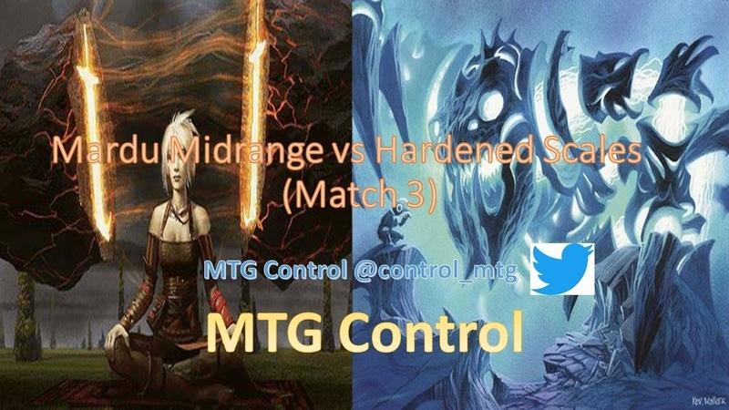 MTG Mardu Midrange vs Hardened Scales Affinity - Match 3 - Modern