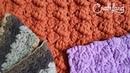 Универсальный узор для ковра, пледа или шарфа (мастер-класс)