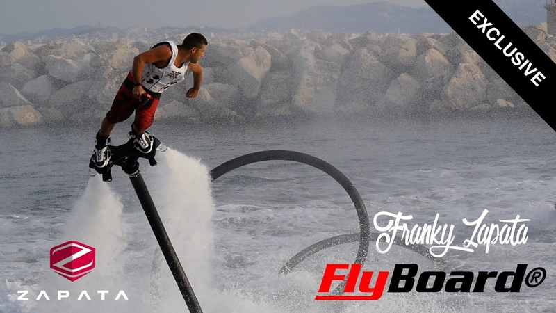 Franky Zapata ride the Flyboard Pro Series like a boss in France