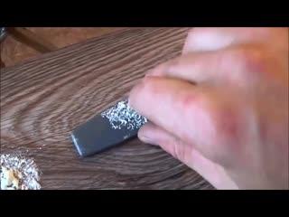 Как удалить засохшую монтажную пену