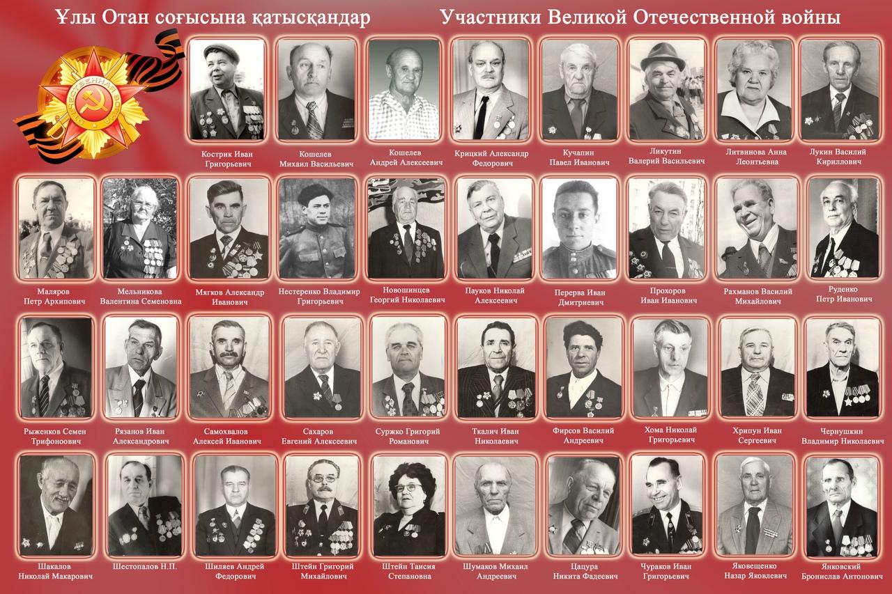 Лисаковцы – участники Великой Отечественной войны