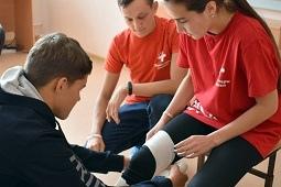 Урок первой помощи организован для гимназистов областного центра