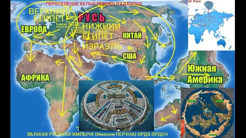 Русские Веды Первая планетарная катастрофа Великое переселение из Даарии Великое переселение из Даарии Фильм 2