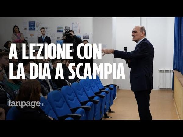 Il Direttore della Dia Giuseppe Governale in visita alla scuola di Scampia Dobbiamo credere nei