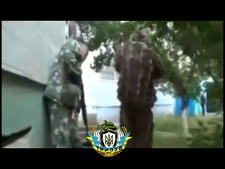 Жесть!!Луганск ополченцу прострелили голову!Украина,Донецк,Луганск,Славянск,Мариуполь,Краматорск,Рос