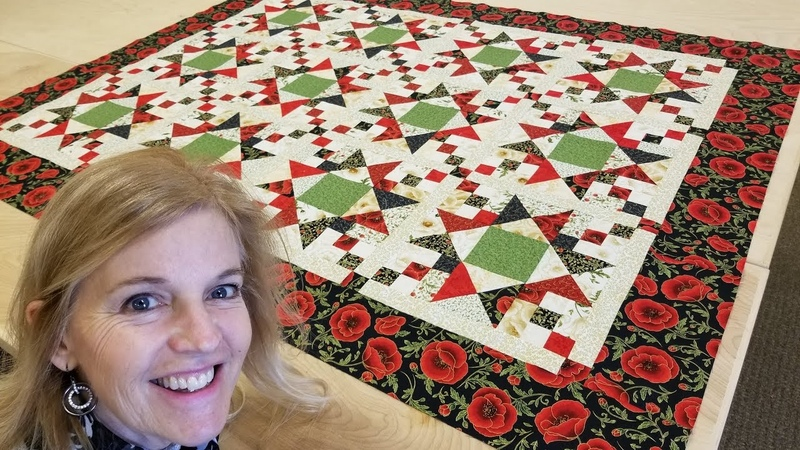 My FREE Galaxy Quilt Pattern For All you Crafty Quilters Out There