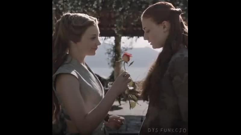 Sansa stark x margaery tyrell sansaery game of thrones vine