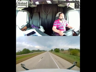 Truck Driver Falls Asleep And Crashes