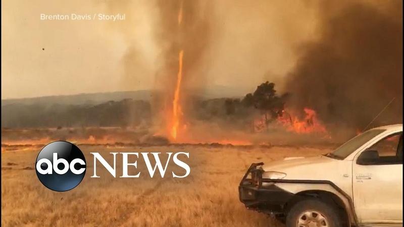 Massive evacuation underway due to fires in Australia l ABC News