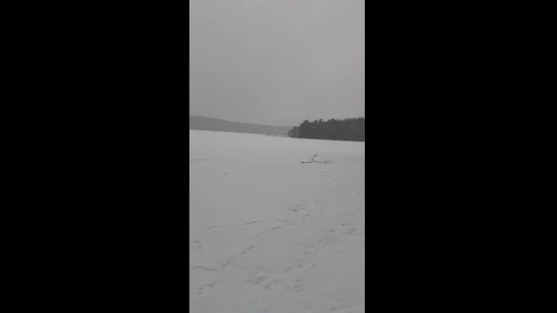 Медное озеро.Первый день зимы.01.12.2019