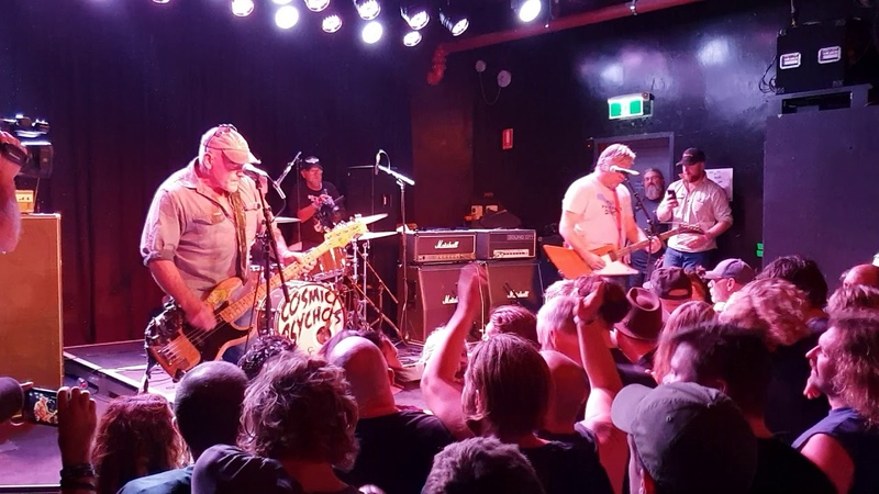 Cosmic Psychos Pub at the Espy 2019 Who'd have thunk
