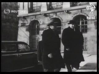 Big Four Meeting in Paris (1951)