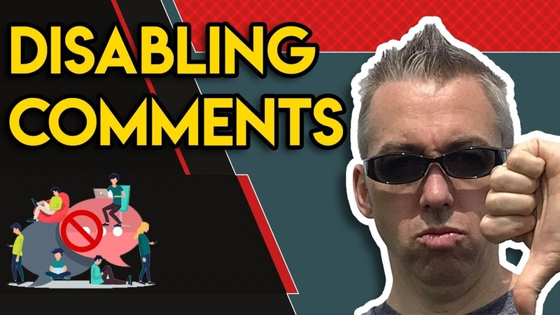 How to Disable Comments on a YouTube Channel Video