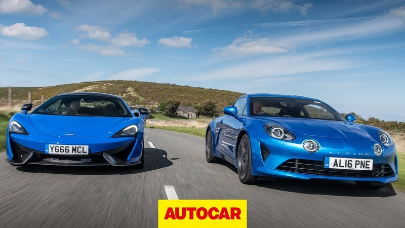 McLaren 570S vs Alpine A110 Which is the ultimate driver's car Autocar
