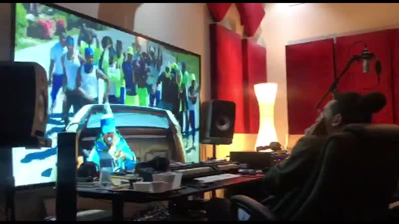 Руф и Фактор заценили на студии свой новый бит