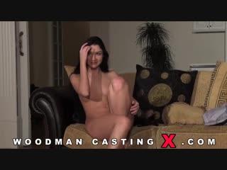 Русская девушка захотела стать порно актрисой. Кастинг у Вудмана ( порно анал секс )